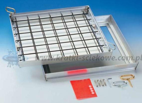 Właz aluminiowy Hatch Tile